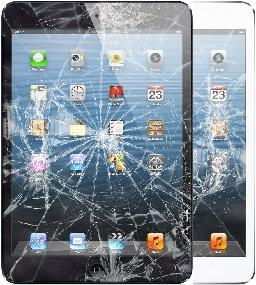 your new ipad mini 4 fell the screen got cracked already the display is fine just the top glass is shattered or digitizer not responding to the touch
